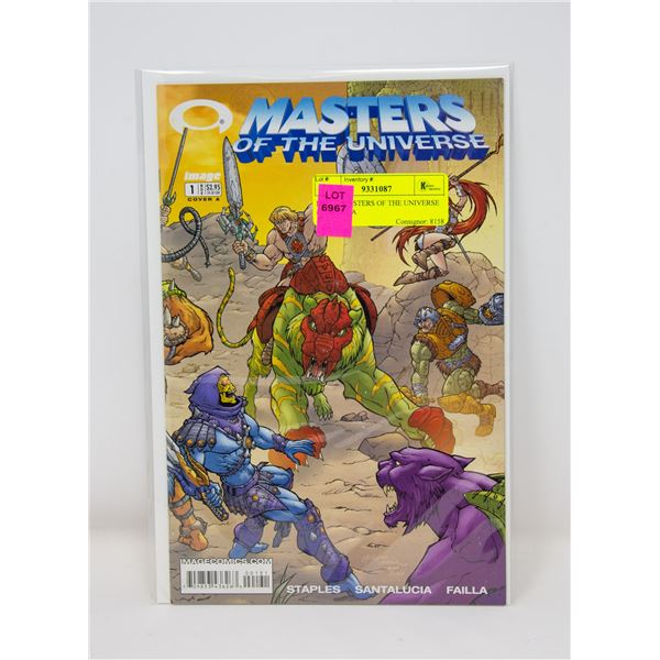 IMAGE MASTERS OF THE UNIVERSE #1 COVER A