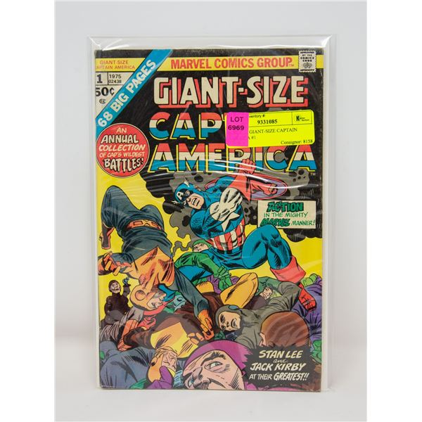 MARVEL GIANT-SIZE CAPTAIN AMERICA #1