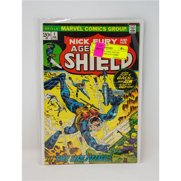 MARVEL NICK FURY AND HIS AGENTS OF SHIELD #1 COMIC