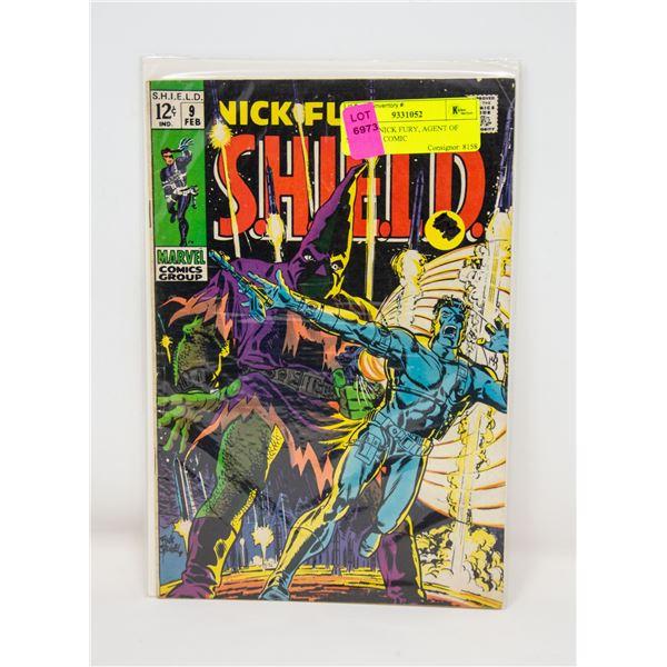 MARVEL NICK FURY, AGENT OF SHIELD #9 COMIC