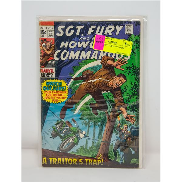 MARVEL SGT. FURY #77 COMIC