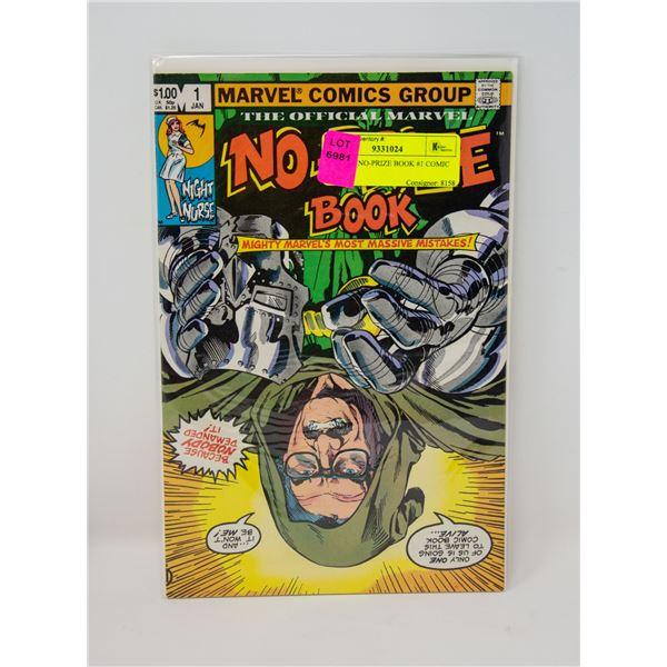 MARVEL NO-PRIZE BOOK #1 COMIC
