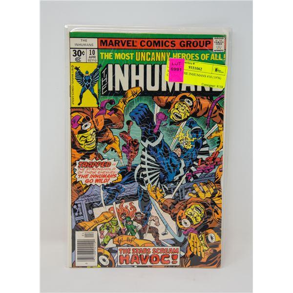 MARVEL THE INHUMANS #10 (1976) COMIC