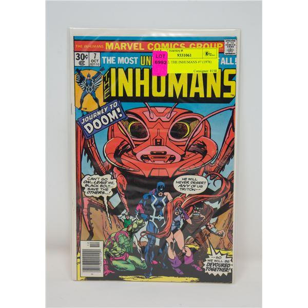 MARVEL THE INHUMANS #7 (1976) COMIC