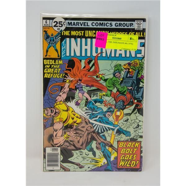 MARVEL THE INHUMANS #6 (1976) COMIC