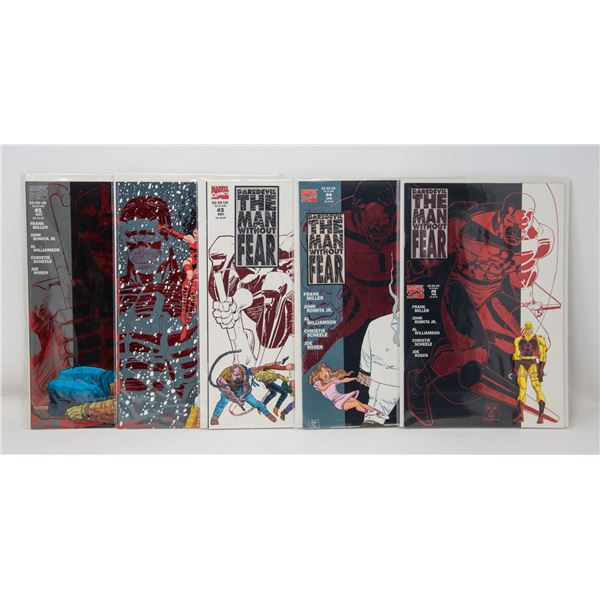 MARVEL DAREDEVIL: THE MAN WITHOUT FEAR #1-5 COMIC