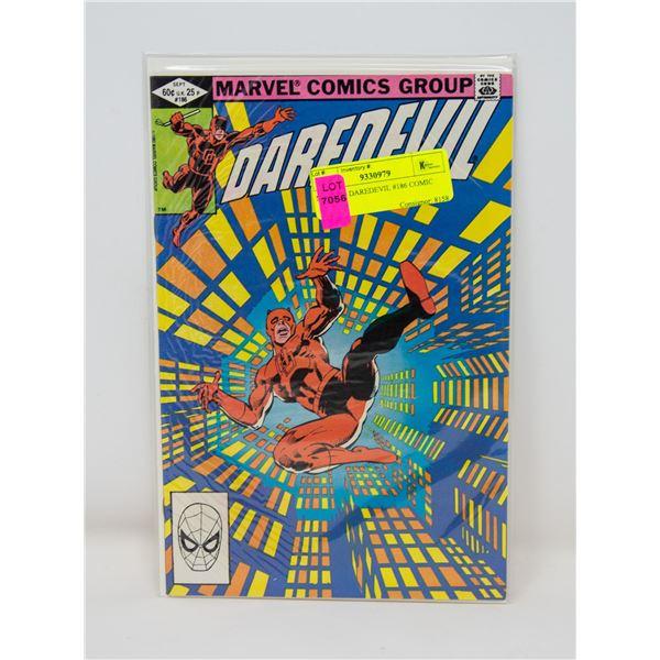 MARVEL DAREDEVIL #186 COMIC