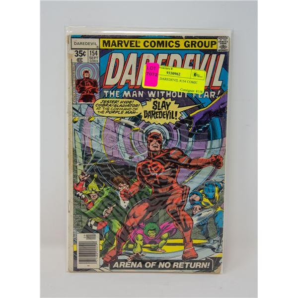 MARVEL DAREDEVIL #154 COMIC