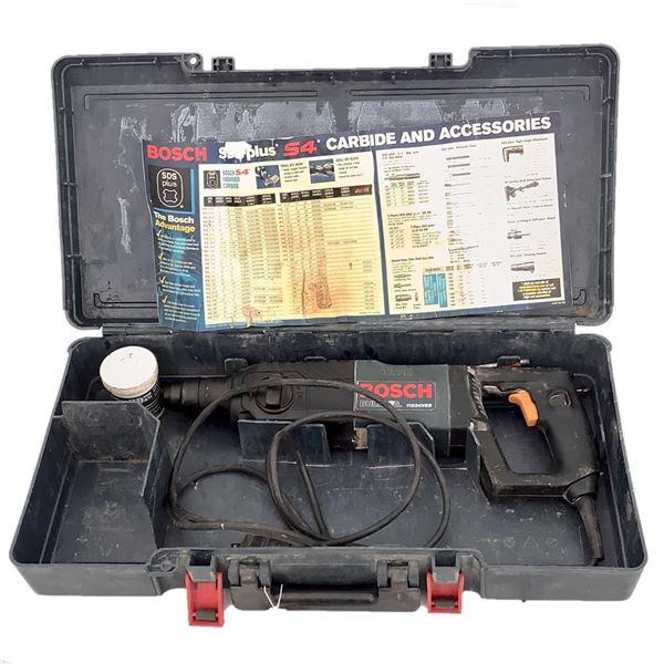 "Bosch 11224VSR Bulldog 7/8"" SDS Plus Rotary Hammer Drill W 1 Bit"
