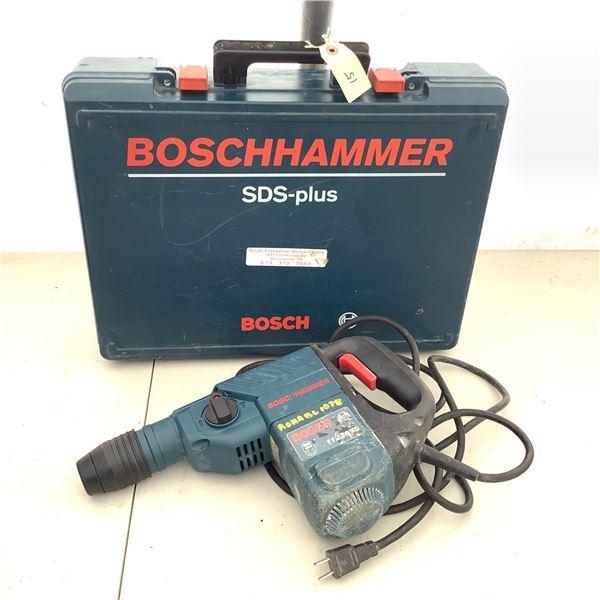 "Bosch SDS Plus 11236VS 7.5 Amp 1 1/8"" Rotary Hammer Drill"