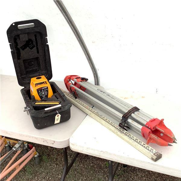 LaserMark Self Levelling System W Tripod and Stick