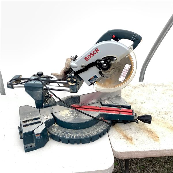 "Bosch Model 3915 Sliding 10"" Compound Mitre Saw"