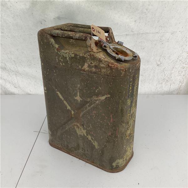 Metal Gasoline Can, 20 L