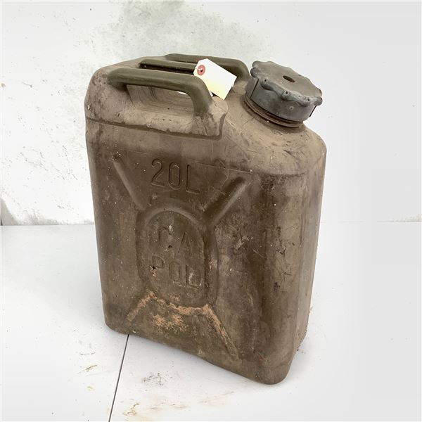 Plastic Gasoline Can, 20 L