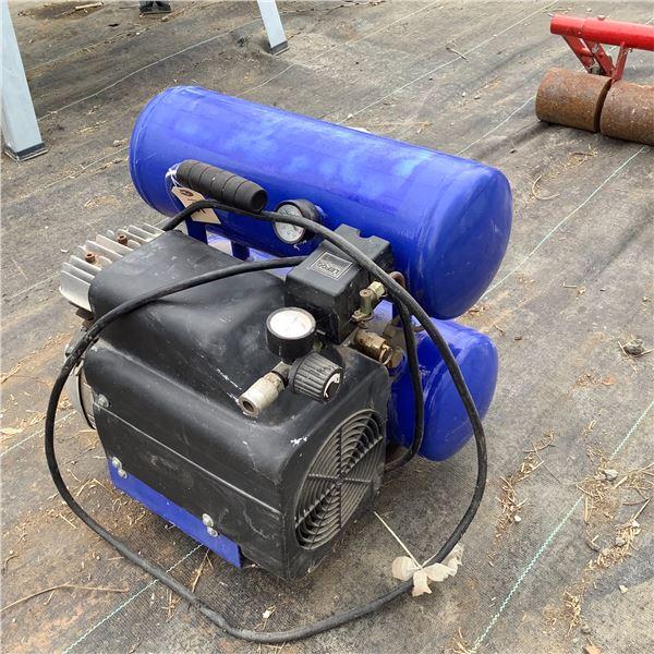 Twin Tank Electric Air Compressor