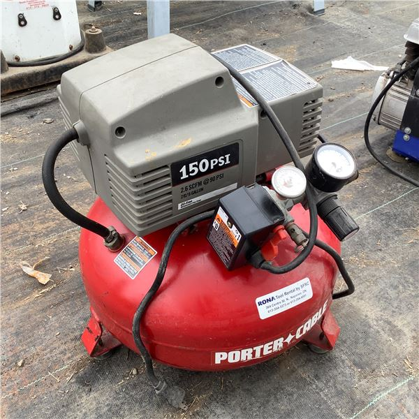 Porter Cable Pancake 150 psi Air Compressor