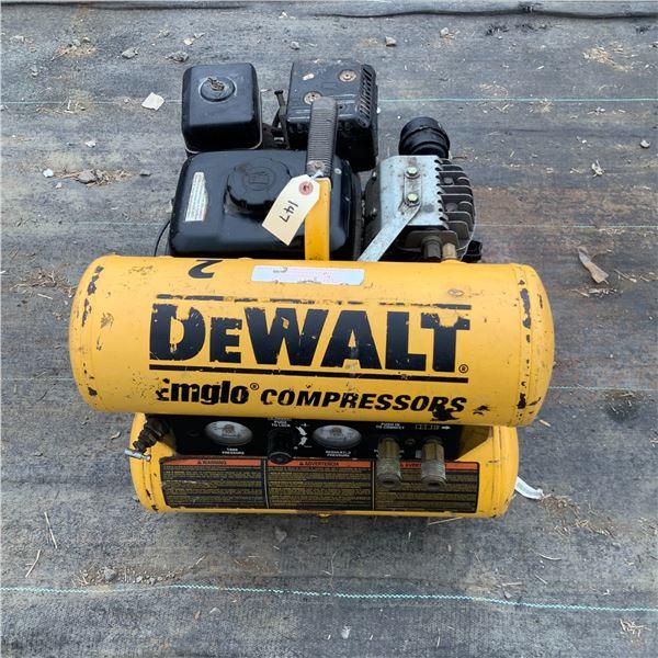 DeWalt Air Compressor With Honda Engine