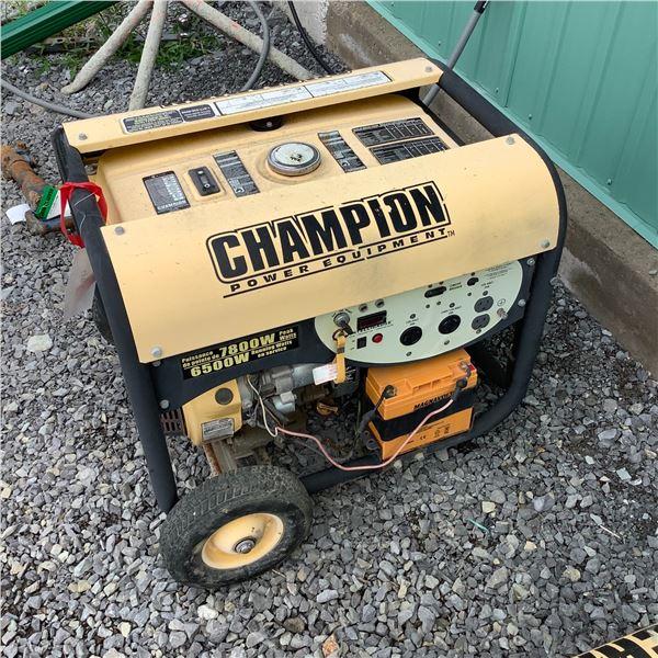 Champion 7800 Peak Watt Gasoline Generator