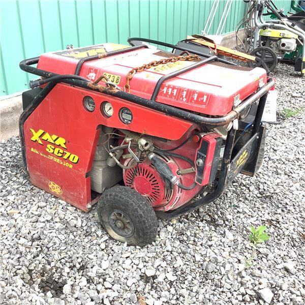 X AIR SC70 70 CFM Air Compressor W Wheels and Honda GX 610 Motor