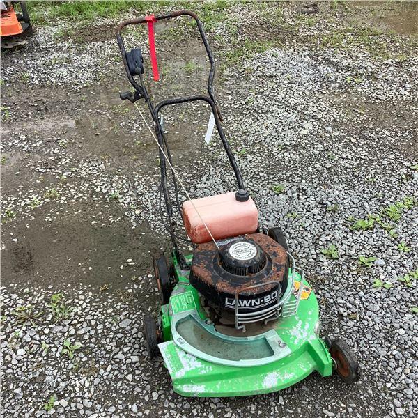 "Aluminum Lawn Boy 20"" Push Mower, Deck Has Been Welded"