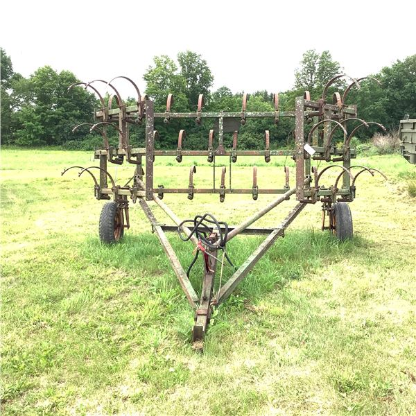 Folding Cultivator, 18 Ft.  10' With 2 X 4' Wings