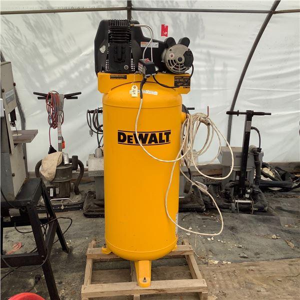 DeWalt Mod DXCMLA3706056 240 V, 3.7 Horse, 155 psi, 11.5 SCFM 60 Gallon Air Compressor