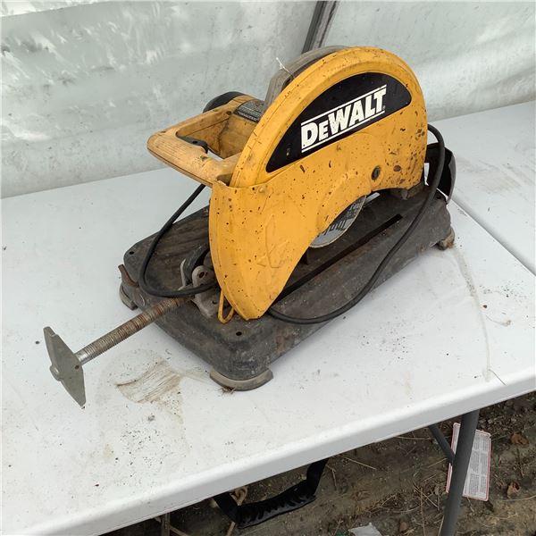 """DeWalt 14"""" Chop Saw 15 Amp Model DW871"""