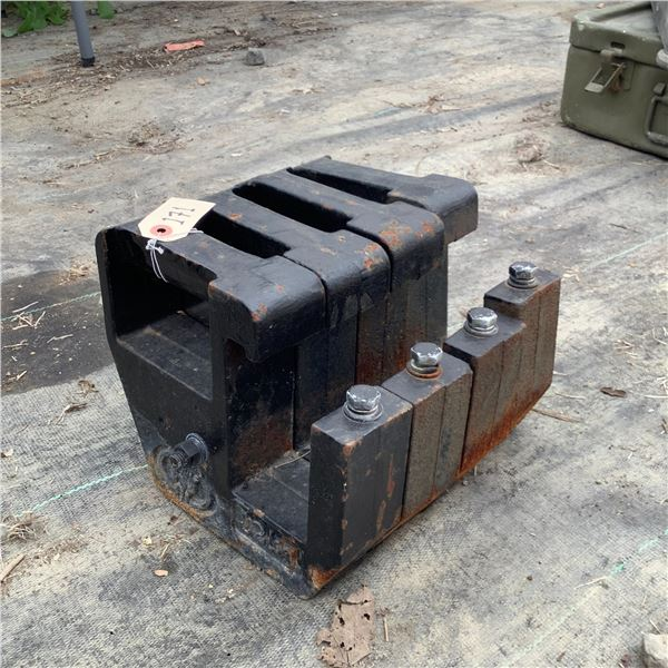 Tractor Suitcase Weights 4 X 25 Lbs