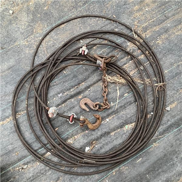 Tow Cable and Hook