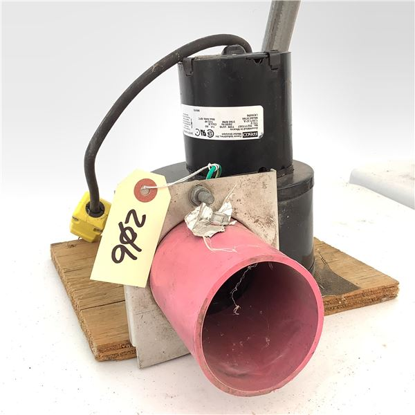 Fasco Electric Blower Motor, 1/2 Amp