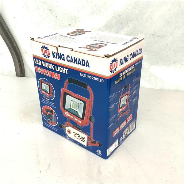 King Canada LED Work Light KC-2401LED, New