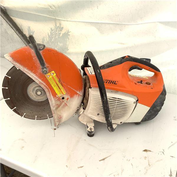 "Stihl Gas Powered 14"" Concrete Cut Off Saw TS420"