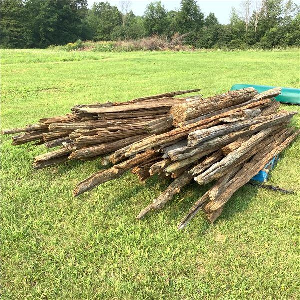 Assorted Cedar Rails