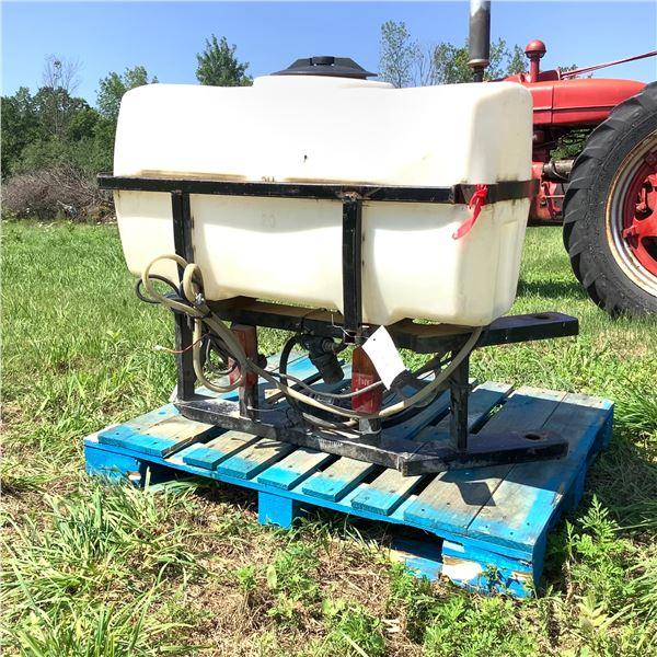 50 Gallon Rear Mount Sprayer