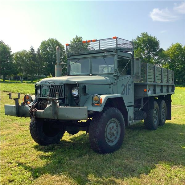 1976 M35 A2, 6 Wheel Drive Military Truck
