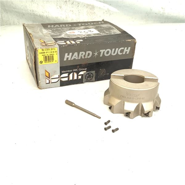 Hard Touch Carbide Face Mill F90LN D4.00-09-1.5-R-N11, New