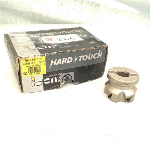Hard Touch Carbide Face Mill F90LN D2.00-05-.75-R-N11, New