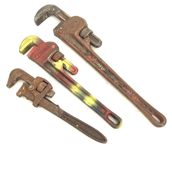 """Pipe Wrenches 12"""", 14"""", 18"""""""