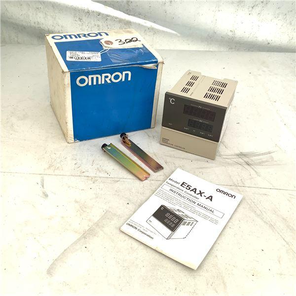 Omron E5AX-A Temperature Controller
