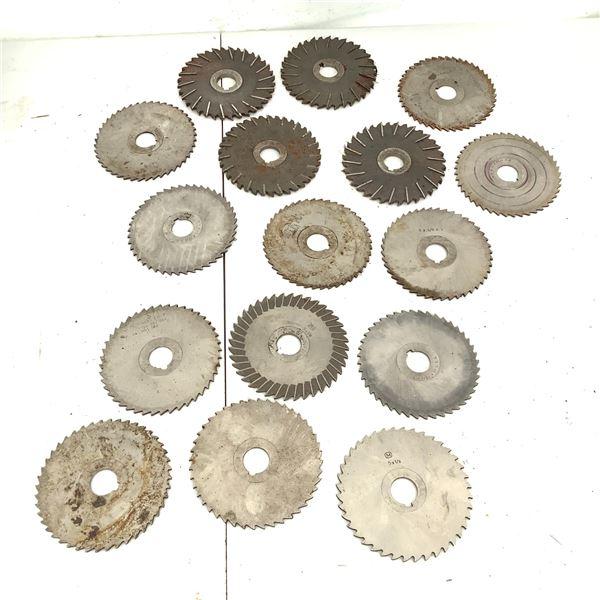 Metal Slitting Saws X 16