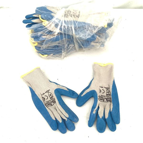 Gardening Gloves, 10 Pair, Small