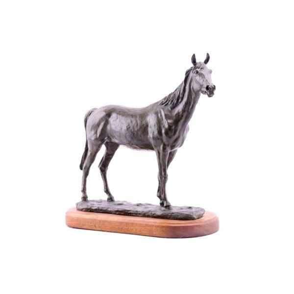 Earle E. Heikka (1910-1941) Bronze Horse c. 1934