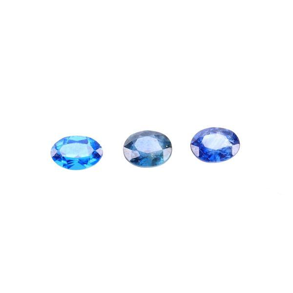 Montana Cornflower Blue Sapphires 2.00 Carats