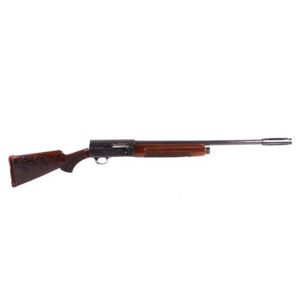 Highly Engraved Savage M. 720 Shotgun w/ Burl Wood