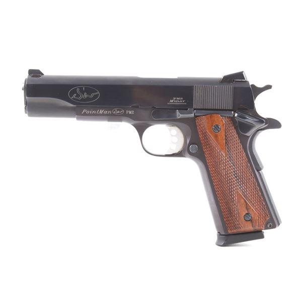 Dan Wesson Point Man Mod 1911 .45 Pistol & Case