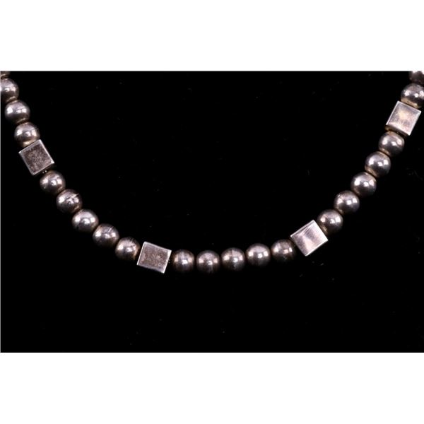 Taxco, Mexico TS-144 Sterling Silver Necklace