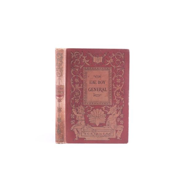 """1st edition 1895 """"The Boy General"""" By Glazier"""