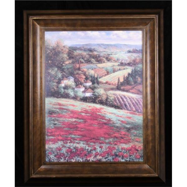 Large Castellan Vineyard Landscape by Hulguy