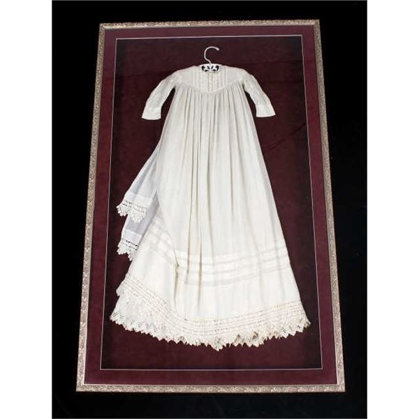 Late 19th Century Heirloom Christening Gown