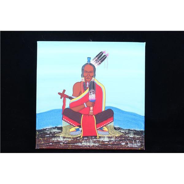 2021 Original Dau-Law-Taine Kiowa Painting